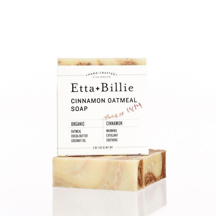 Organic Artisan Cinnamon Oatmeal Soap | by Etta + Billie