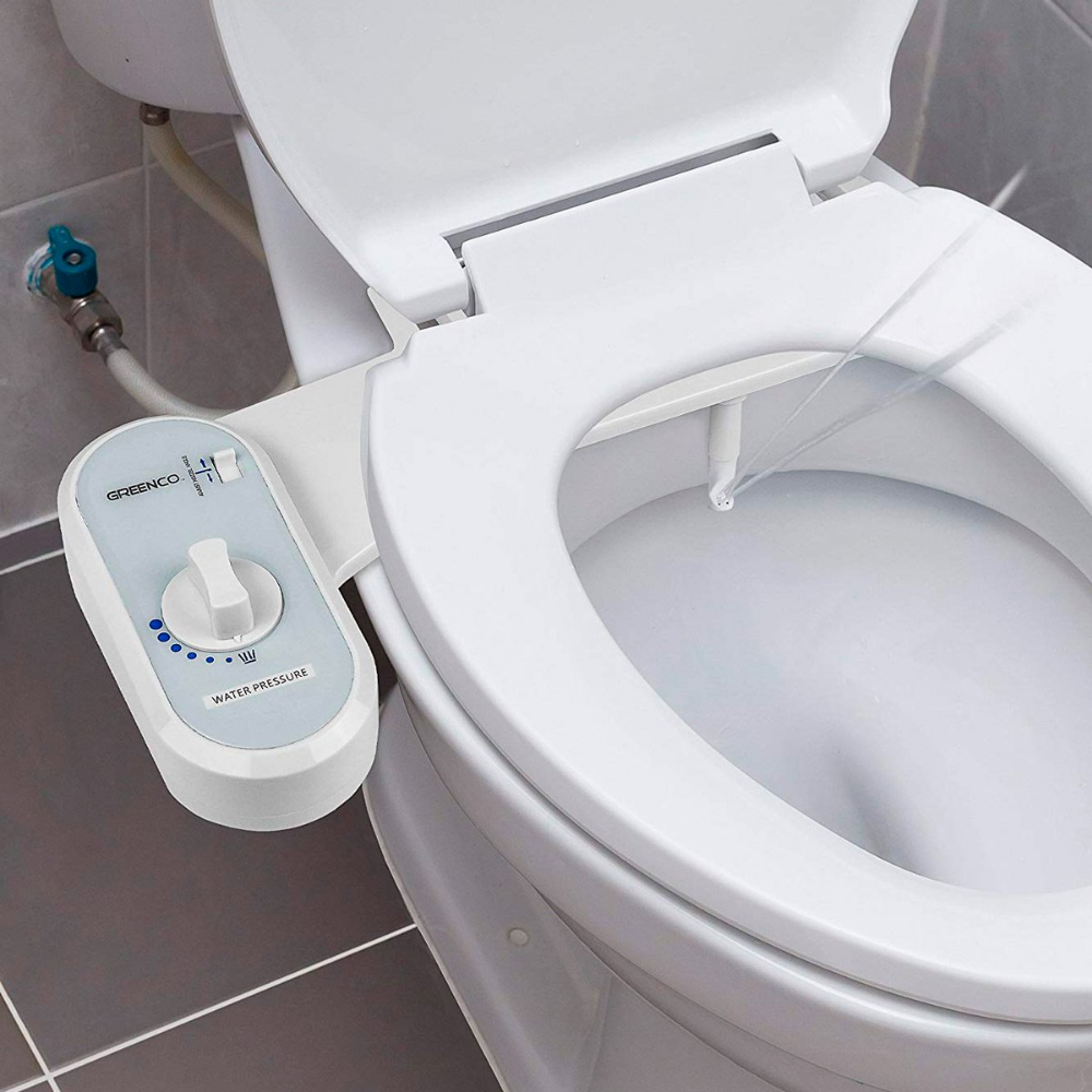 Non Electric Bidet Toilet Seat Bidet Attachment Self Cleaning