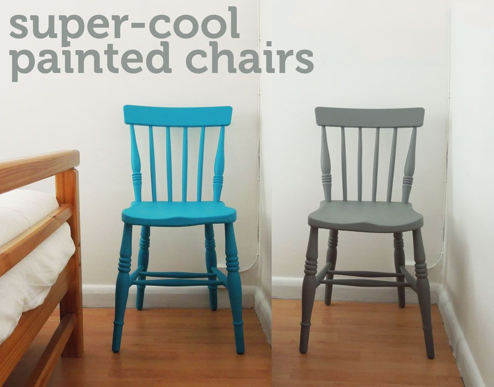 I have couple of old wooden chairs kicking about which I thought would look amazing if they were given a bit of TLC so I decided to paint them in some new ... & How to: revamp an old wooden chair | Pinterest | Couples Craft and ...
