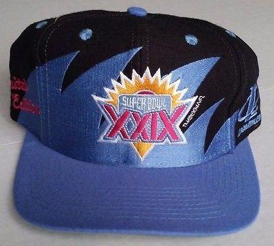 99fb72a03ddcc Super Bowl XXIX Vintage Snapback Logo Athletic Sharktooth Hat NFL Cap RARE  Logo7