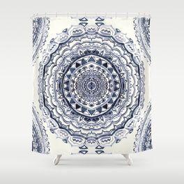 Indigo Shower Curtains Society6 Indigo Shower Curtain