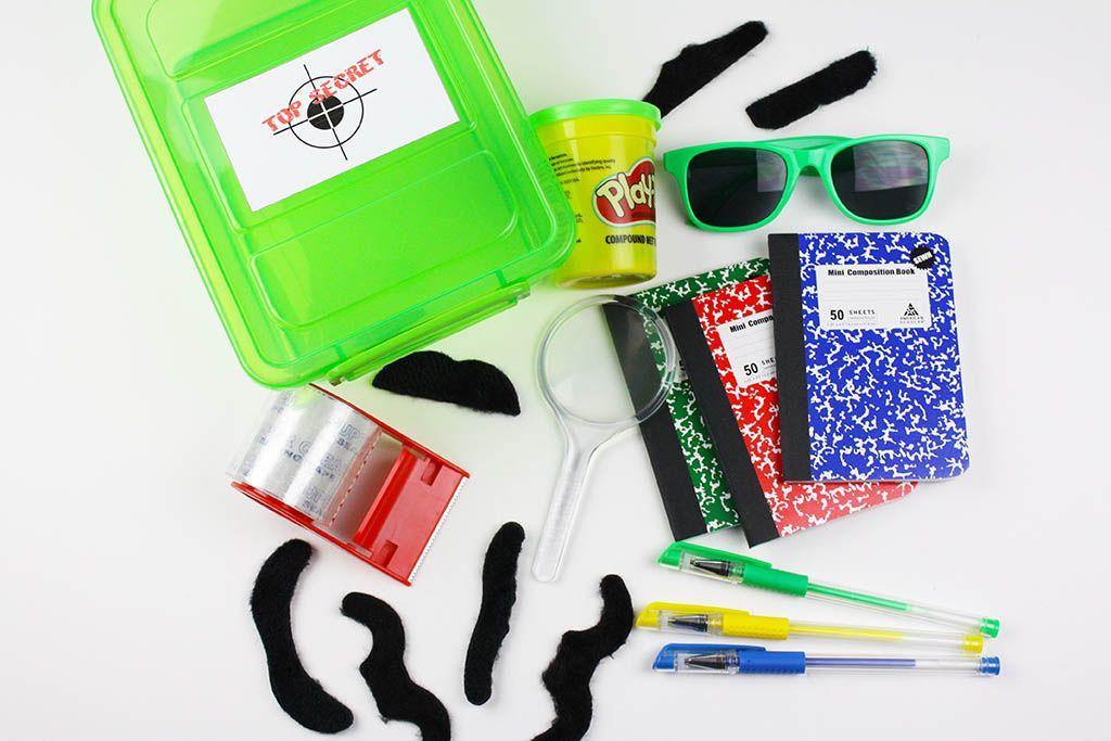 DIY Spy Kits Spy kids, Spy, Fingerprint crafts