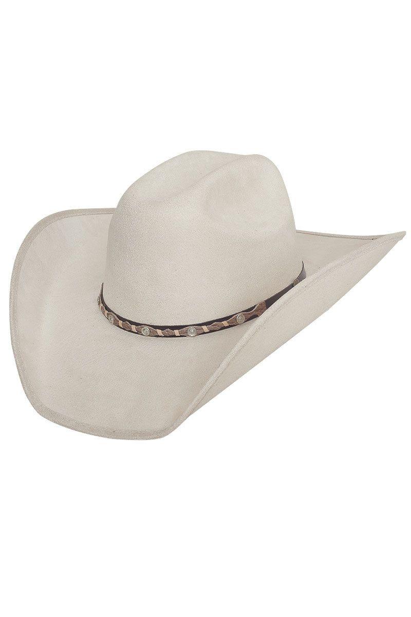 Bullhide Cattle Town Buckskin Wool Cowboy Hat  8d6158fec36e
