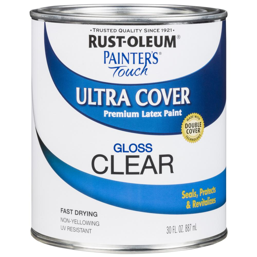 Rust-Oleum Painter's Touch 30 oz  Ultra Cover Gloss Clear
