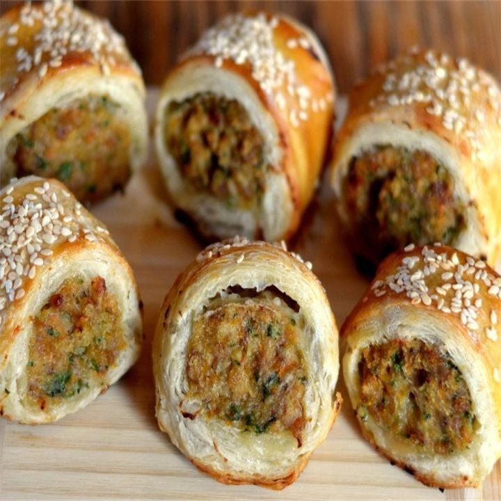 Chicken Mince Sausage rolls - Manor Farm   Recipe in 2020 ...