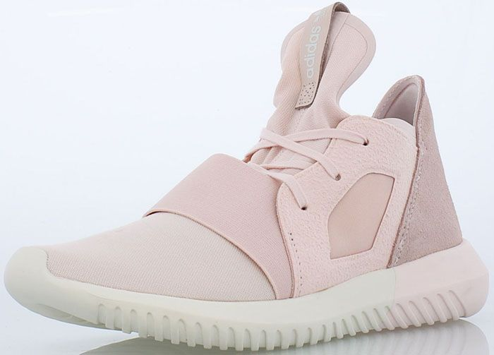Adidas Tubular Defiant Jersey & Suede Trainer