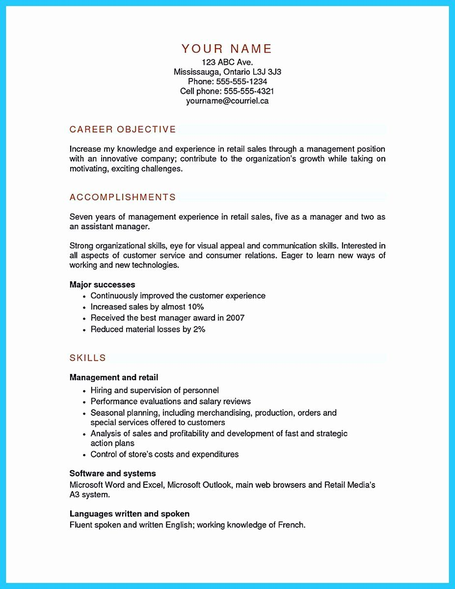 Grocery Store Manager Resume Luxury Free Accounting