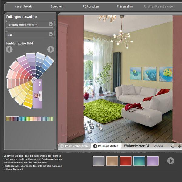Schoner Wohnen Farbdesigner Probieren Sie Es Home Sweet Home Interior Design