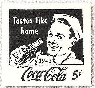 Wartime era Coca Cola advertisement