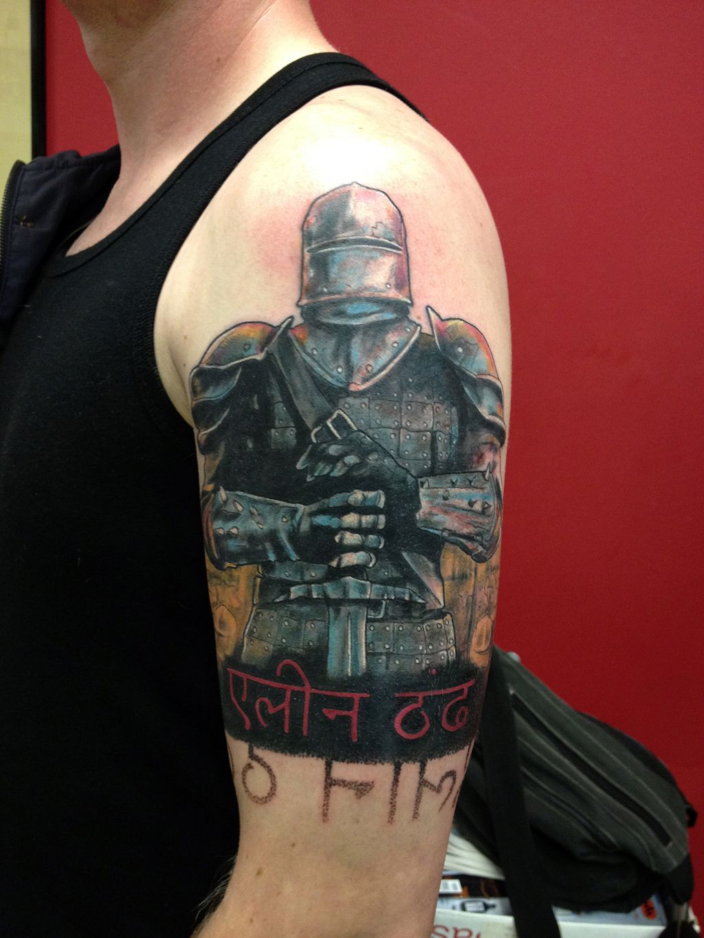 Crusader Warrior Korsridder Tattoo | Robert | Pinterest ...