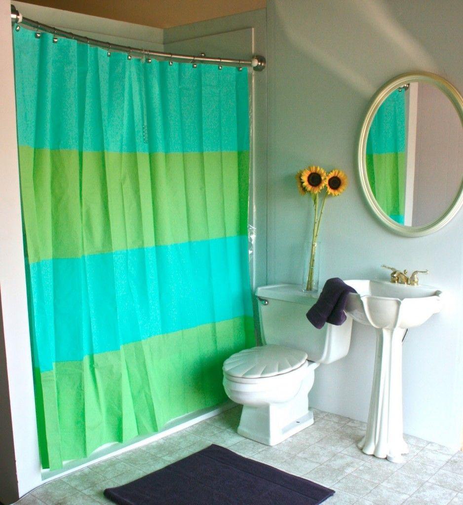 Colorful shower curtain Colorful shower curtain