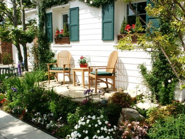 Small Patio Mobile Home Landscaping Home Landscaping Cheap