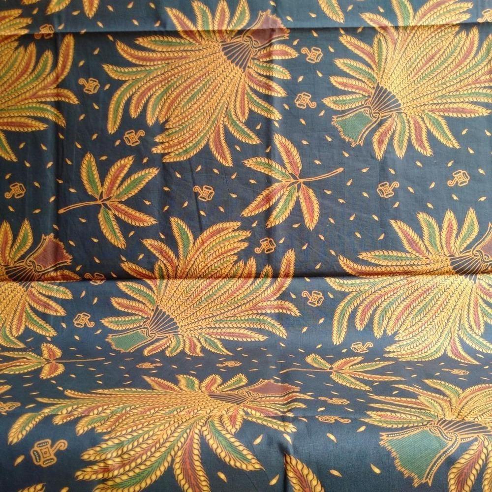 Genuine Handcrafted Indonesian Javanese Batik Fabric From