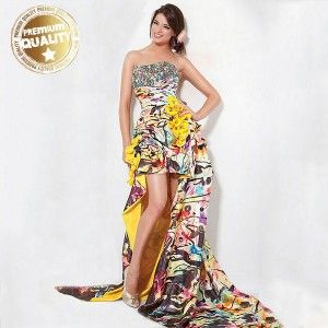 9594dc8f5f6 Life colors print exotic dress crazy outfit