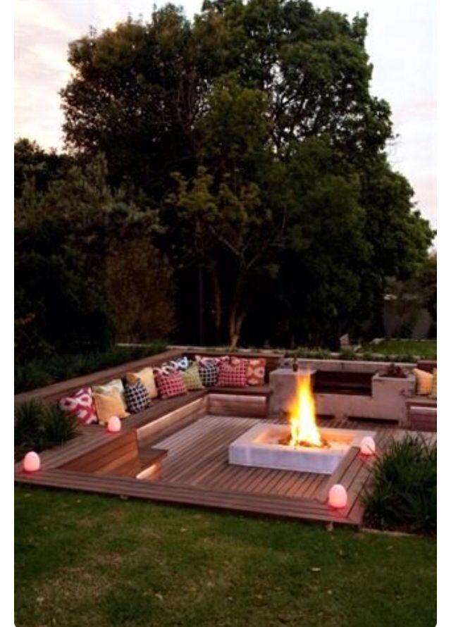 Pin by Hussein Alsaei on garden in 2019 | Sunken patio ...