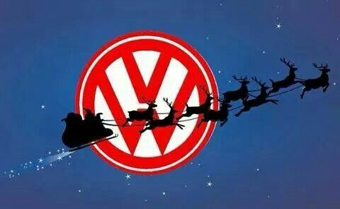 And To All A Good Ride Christmas Volkswagen 181