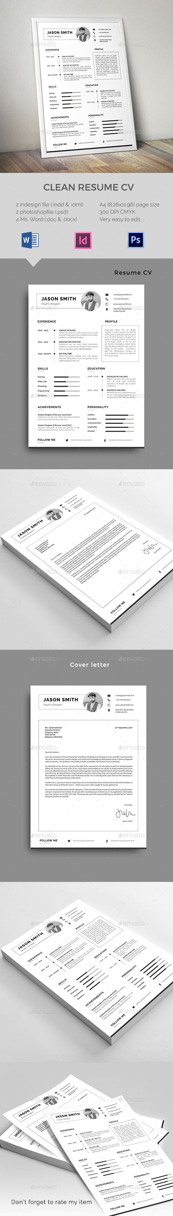 Clean Resume | Currículum y Portafolio