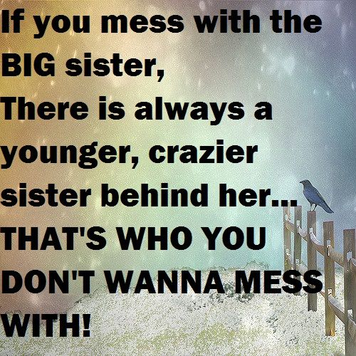 d183265ef 31 Funny Sister Quotes and Sayings with Images | Family | Sibling ...