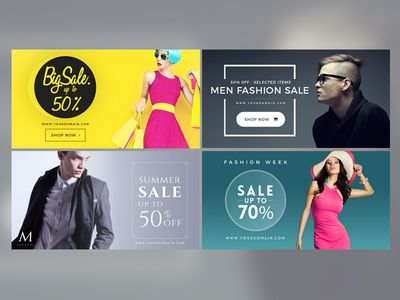 Facebook Fashion Post Banner | Banners, Web banners and Sale banner