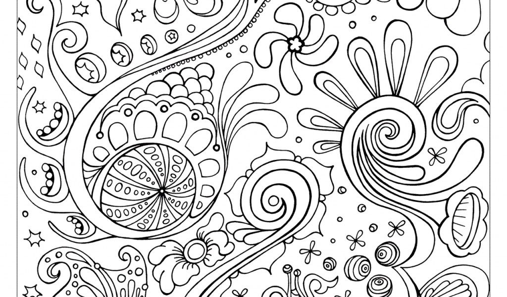 Free Abstract Coloring Pages PrintableFree Coloring Pages For Kids