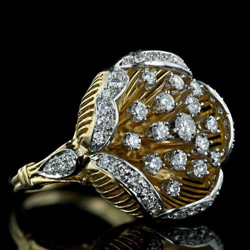1950 Vintage Diamond Rings