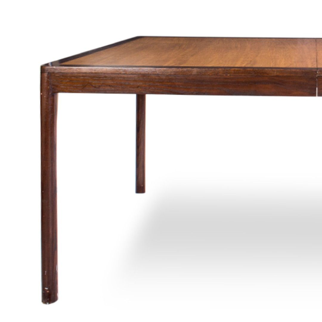 Dining tables gerrit industrial style rustic pine iron dining table - Edward Wormley Mahogany Dining Table By Dunbar At