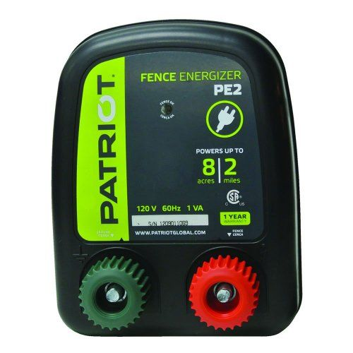 Patriot Pe2 Electric Fence Energizer 0 10 Joule Electric Fence