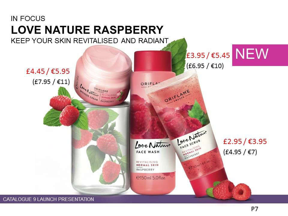 31302 Love Nature Raspberry Mousse Cream Benefits Claims