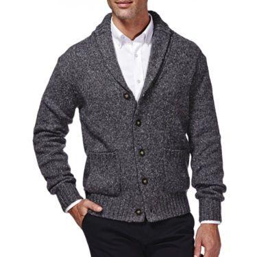 2aa879e51 Haggar® Shawl Cardigan Sweaters - JCPenney