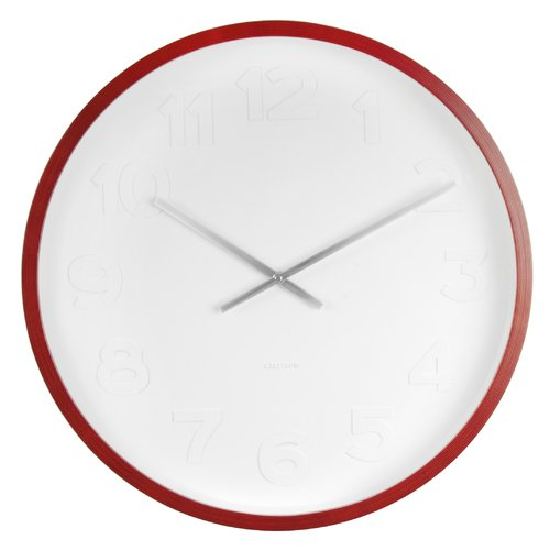 Karlsson Wandklok Mr White Numbers.Karlsson Mr White Number 38 2cm Wall Clock In 2019