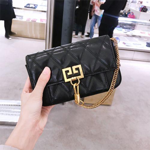 19e56912e7b6 YH 지방시-B-120918-J-02 Givenchy Mini Pocket Bag In Diamond Quilted ...
