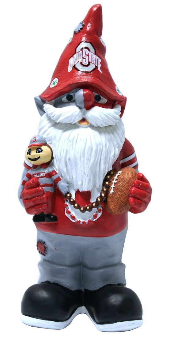 Superieur Ohio State Buckeyes Garden Gnome   11 Thematic (backorder)