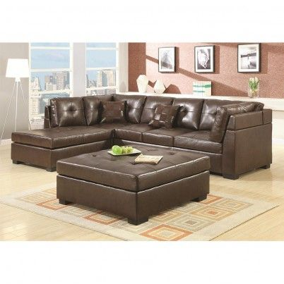 leather sectional sofa with left side chaise want pinterest rh pinterest com