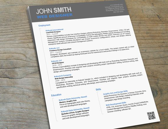 this is an extraordinary artistic resume template that highlights your creative abilities  great