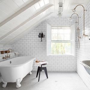 Small Bathroom Designs Slanted Ceiling attic bathrooms with sloped ceilings   attic bathroom features
