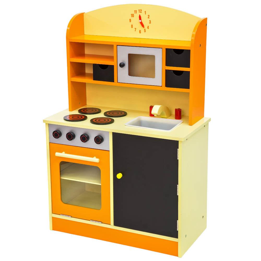 Kinderküche aus Holz Kinderspielküche Spielküche
