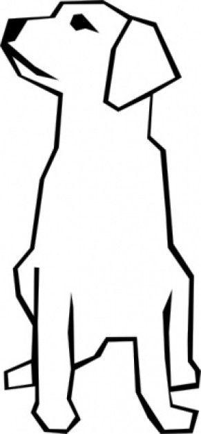 """Extrêmement Résultat de recherche d'images pour """"dessin de chien facile  KP04"""