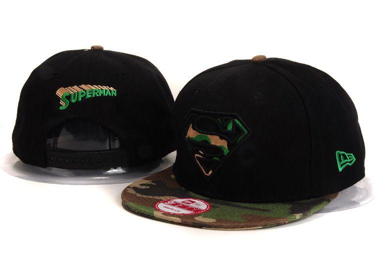 6ef40687e33 Superman New Era 9FIFTY Snapback Black Hats 229