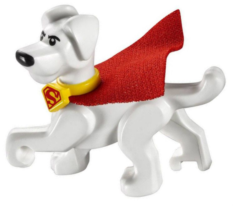 76096 LEGO DC Super Heroes Justice League Superman Krypto Minifigure