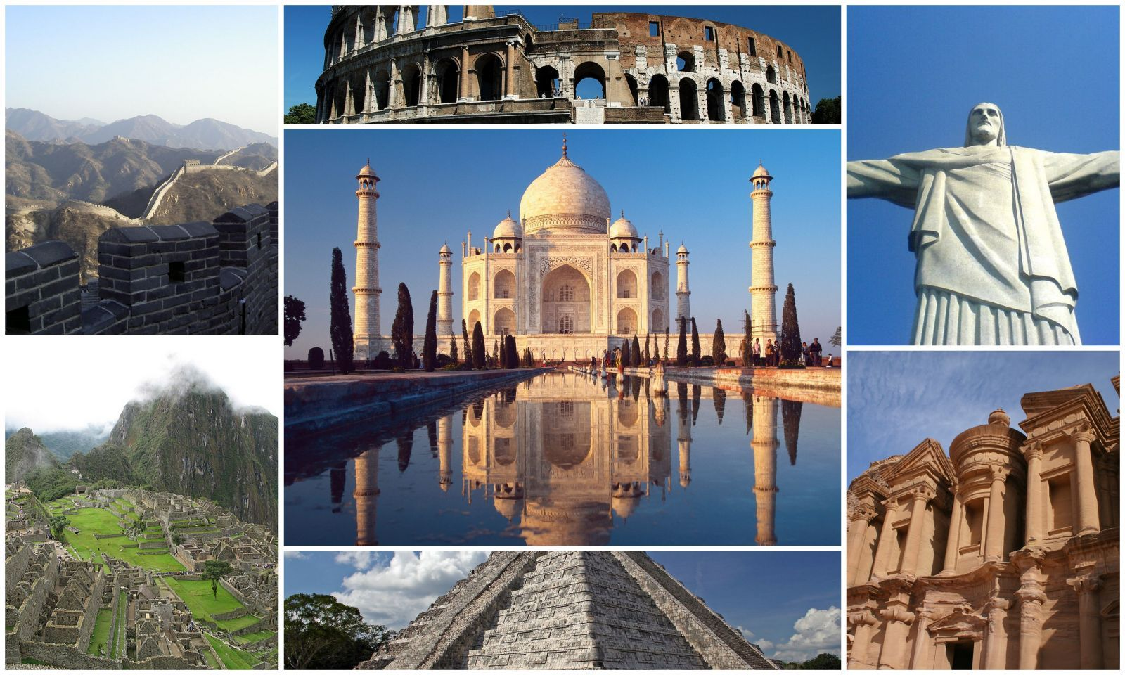 7 wonders of the world | Add it to the Bucket List | Pinterest ...