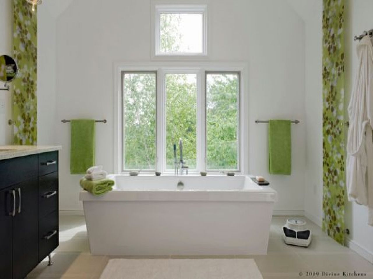 Green Bathroom With Modern And Cool Design Ideas Gray Bathroom Decor Green Bathroom Bathroom Design Decor