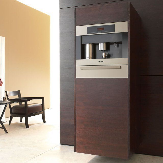 einbau kaffeemaschine von miele gentlemen 39 s interior pinterest kaffeemaschine und k che. Black Bedroom Furniture Sets. Home Design Ideas