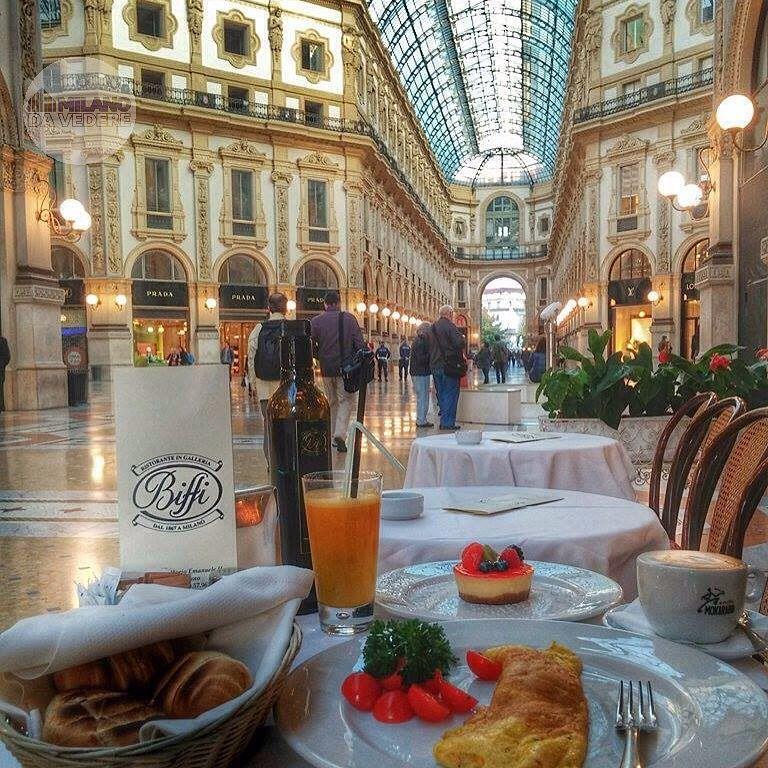 Galleria Vittorio Emanuele Ii, Restaurant