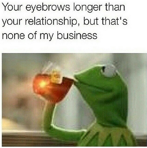 The Best Of Kermit Sipping Tea Black Twitters Funniest New