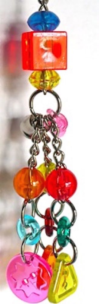 BIRDTALK BIRD TOYS BUTTONS & BEADS flat rate postage only $6.95