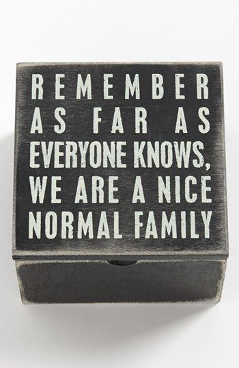 Nice Normal Family Primitives by Kathy Classic Box Frame 10
