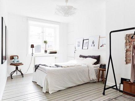 Zwart Wit Appartement : Zweeds appartement in zwart wit inrichting huis.com huis pinterest