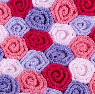 Rose Field Baby Blanket