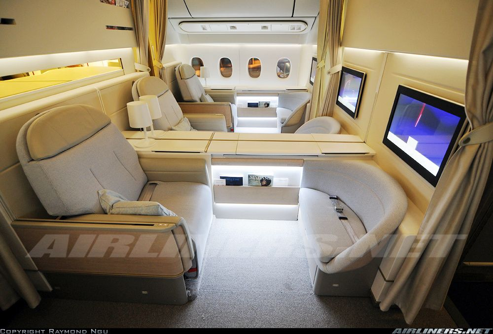 Boeing 777328/ER Air France First Class Travel etc