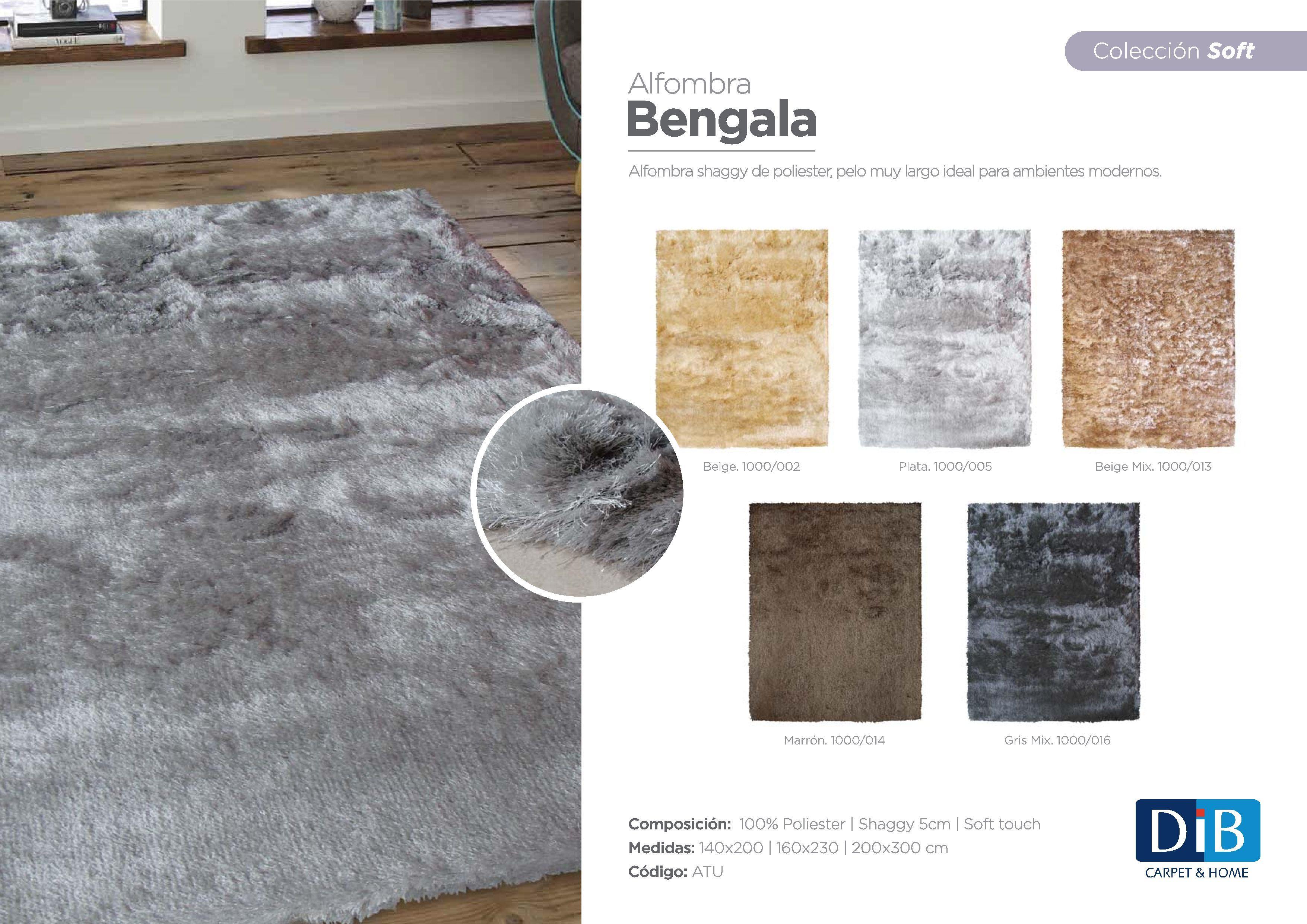 Alfombra Bengala Moderna Pelo Largo Alfombras Modernas Pinterest # Muebles Y Alfombras Mihran